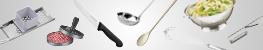 Küchenhelfer, Messer, Schneidbretter