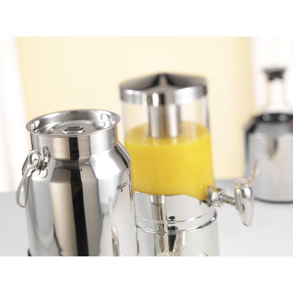 frilich elegance honigspender edelstahl f r 1 kg fl ssigen honig. Black Bedroom Furniture Sets. Home Design Ideas