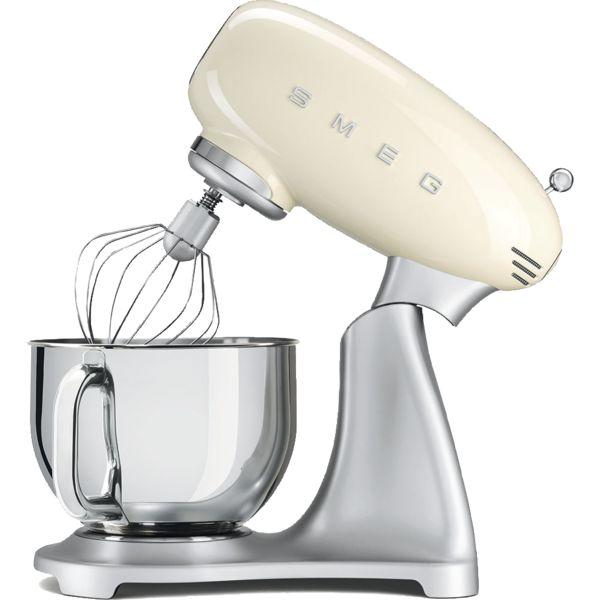Smeg Kuchenmaschine Farbe Creme