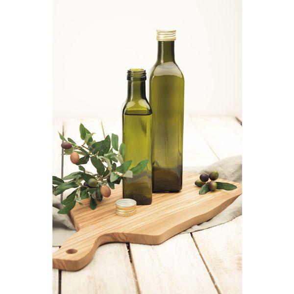 maraska flasche mit schraubverschluss 4 kant gr n. Black Bedroom Furniture Sets. Home Design Ideas